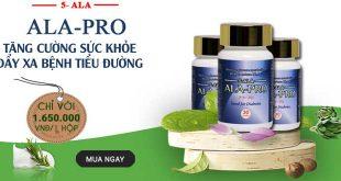 Ala Pro điều trị tiểu đường hiệu quả chính hãng của Nhật