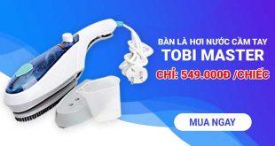 Bàn là hơi nước cầm tay Tobi Master bán chạy số 1 tại Mỹ