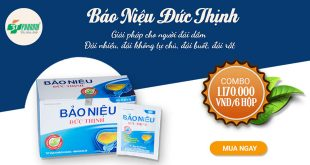 Bảo niệu Đức Thịnh hỗ trợ điều trị bệnh đái dầm