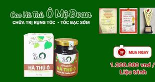Cao hà thủ ô mệ đoan điều trị rụng tóc, bạc tóc sớm