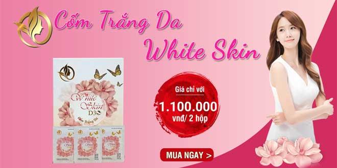 Cốm White Skin D30 làm trắng da, chống lão hóa, phục hồi da