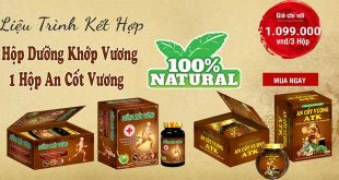 Combo Dưỡng Khớp Vương + An cốt Vương hỗ trợ điều trị bệnh xương khớp