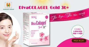 Divacolagel Gold 30+ giúp da sáng hồng tự nhiên