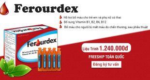 Ferourdex hỗ trợ bổ máu cho trẻ em và phụ nữ có thai