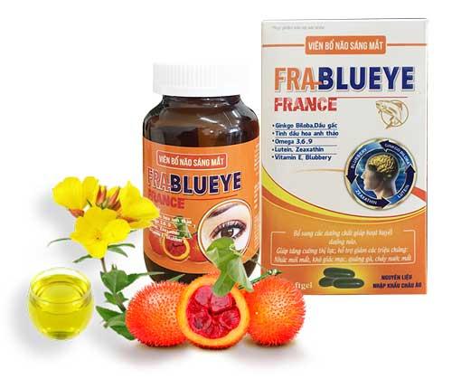 Viên bổ não sáng mắt Franblueye France