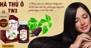 Hà thủ ô tw3 hỗ trợ điều trị bạc tóc, rụng tóc