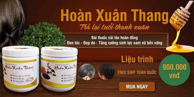 Hoàn Xuân Thang điều trị dứt điểm bạc tóc