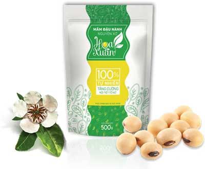 Mầm đậu nành nguyên xơ Hoa Xuân