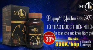 Mr1h thuốc cường dương dành riêng cho phái mạnh