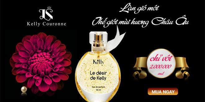 Nước hoa Le Desir làn gió mới từ thế giới mùi hương châu âu