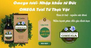 Omega Tươi đem trí tuệ, sức khỏe đến với gia đình bạn