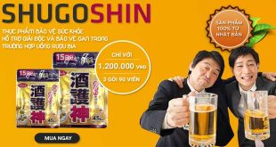 ShugoShin giải rượu, giải độc gan số 1 nhật bản