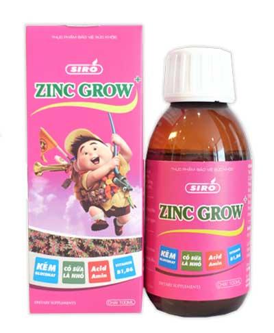 Siro zinc grow+
