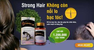 Strong Hair giảm rụng tóc hỗ trợ mọc tóc, giúp tóc chắc khỏe