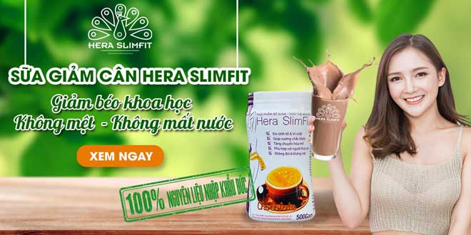 Sữa giảm cân Hera SlimFit tiêu chuẩn Đức nguyên liệu nhập khẩu 100%