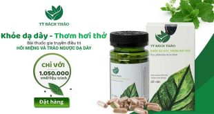 Thuốc gia truyền Tỳ bách thảo điều trị hôi miệng do trào ngược dạ dày