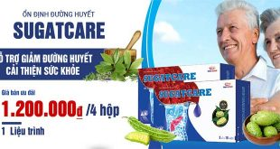 Thuốc Sugatcare hỗ trợ giảm đường huyết, ổn định sức khỏe