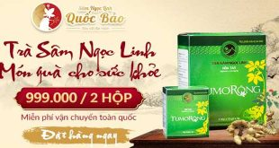 Trà sâm ngọc linh Tumorong, món quà thiên nhiên dành cho sức khỏe