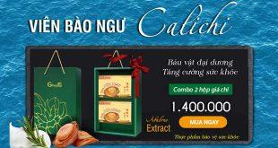 Viên bào ngư Calichi – Abalone Extract tăng cường sức khỏe