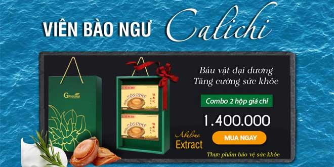 Viên bào ngư Calichi - Abalone Extract tăng cường sức khỏe