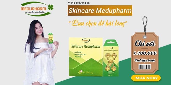 Viên bôi dưỡng da Skincare Medupharm
