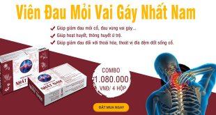 Viên đau mỏi vai gáy Nhất Nam hỗ trợ giảm đau mỏi vai gáy