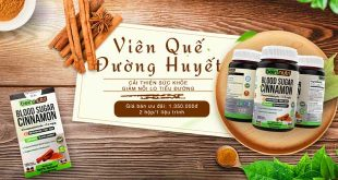 Viên quế đường huyết ổn định đường huyết hạn chế biến chứng tiểu đường