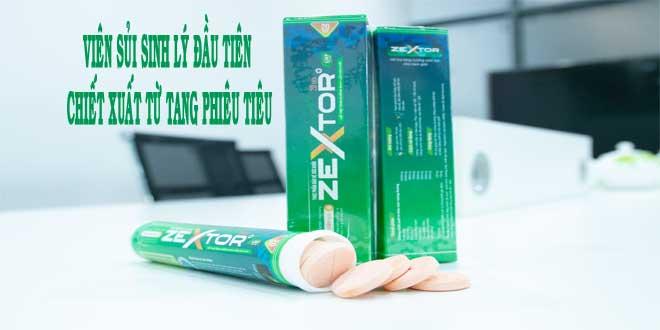 Viên sủi sinh lý Zextor