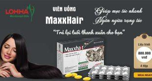 Viên uống MaxxHair giúp mọc tóc nhanh, ngăn ngừa rụng tóc
