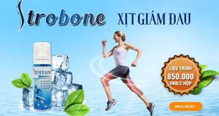 Xịt Strobone hỗ trợ giảm đau xương khớp